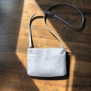 Matt & Nat grey crossbody purse